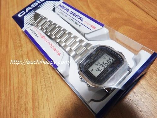 小中学生の男の向け時計カシオデジタル時計を約1,000円で買ってみました